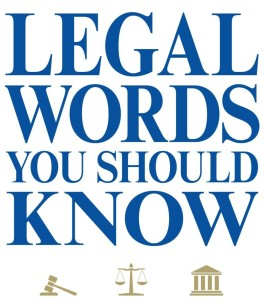 Common legal phrases which are used in Agreements